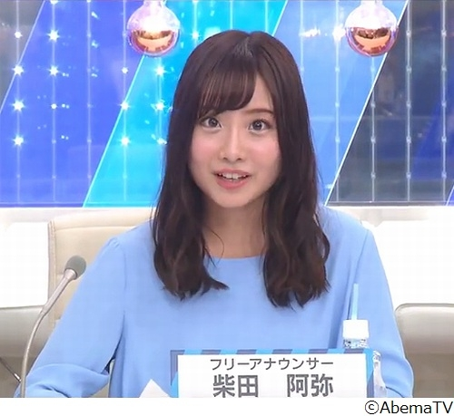 SKE48からアナ転身、柴田阿弥が初ニュース読み 小松アナ「テレ朝の新人アナウンサーのレベルを超えてますよ」