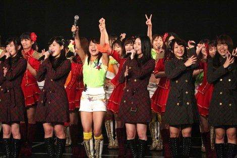 松井珠理奈「日本一のアイドルになるぞ!」 SKE8周年特別公演開催
