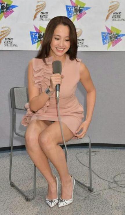 沢尻エリカさん、ドエロい格好でNHKの番組の記者発表に出演
