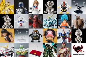 2016年9月(一部8月)一般発売のバンダイコレクターズ事業部の新商品の予約受付開始t