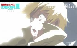 機動戦士ガンダム THE ORIGIN 第3話「暁の蜂起」冒頭13分06