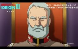 機動戦士ガンダム THE ORIGIN 第3話「暁の蜂起」冒頭13分12