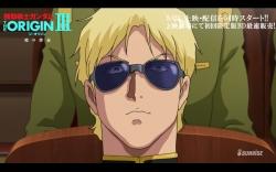 機動戦士ガンダム THE ORIGIN 第3話「暁の蜂起」冒頭13分10