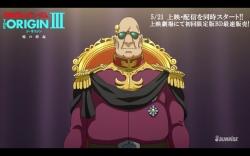 機動戦士ガンダム THE ORIGIN 第3話「暁の蜂起」冒頭13分15