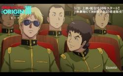 機動戦士ガンダム THE ORIGIN 第3話「暁の蜂起」冒頭13分13