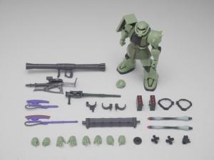 「ROBOT魂 MS-06 量産型ザク ver. A.N.I.M.E.」パッケージ開封レビュー 1