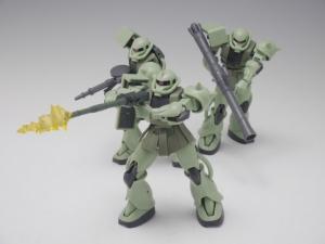 「ROBOT魂 MS-06 量産型ザク ver. A.N.I.M.E.」パッケージ開封レビュー 4