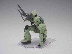 「ROBOT魂 MS-06 量産型ザク ver. A.N.I.M.E.」パッケージ開封レビュー 3