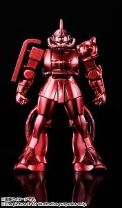 超合金の塊 ガンダムシリーズ GM-02:シャア専用ザクII4