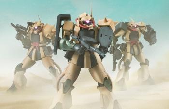 ROBOT魂 〈SIDE MS〉 MS-06D ザク・デザートタイプ ver. A.N.I.M.E.002