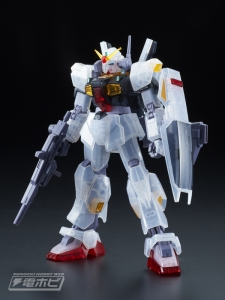 HGUC ガンダムMk-II(エゥーゴ仕様)クリアカラーVer. 001