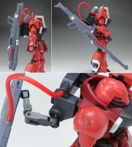ROBOT魂 ガナーザクウォーリア(ルナマリア機)サンプル3