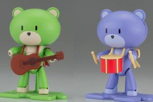 HGPG プチッガイ サーフグリーン & ギター HGPG プチッガイ ラパパンパープル & ドラム(仮)t1