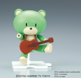 HGPG プチッガイ サーフグリーン&ギター1