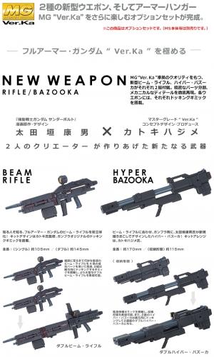 MG ウエポン&アーマーハンガー FOR フルアーマー・ガンダム Ver.Ka (GUNDAM THUNDERBOLT版 03