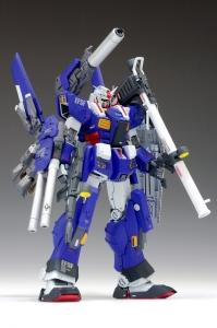 ウェーブ フルアーマーガンダム【BLUE ARMOR Ver (4)