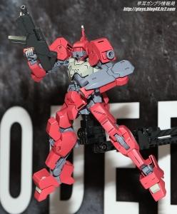 全日本模型ホビーショー2016 HG 獅電改シノ機(流星号)03