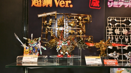 全日本模型ホビーショー BB戦士 LEGENDBB 武者飛駆鳥 超鋼Ver.01