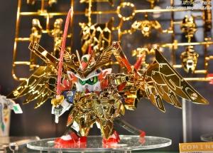 全日本模型ホビーショー BB戦士 LEGENDBB 武者飛駆鳥 超鋼Ver.03