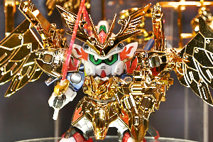 全日本模型ホビーショー BB戦士 LEGENDBB 武者飛駆鳥 超鋼Ver.t1