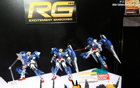 全日本模型ホビーショー2016 RG ダブルオーガンダム セブンソード01