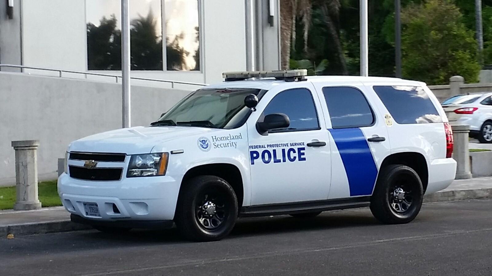 アメリカグアムパトカーFederal Protective Service