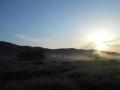 朝陽と霧 (2)