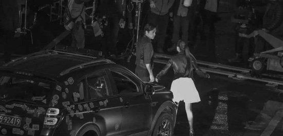 トニーさん&アンジェラベイビー@上海「摆渡人」撮影