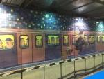 「地下鉄」@台北南港駅2