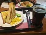 朝食@台北のカフェ