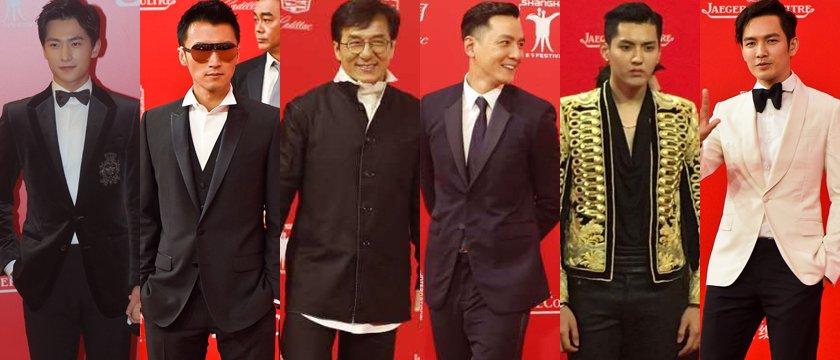 男明星@上海国際映画祭