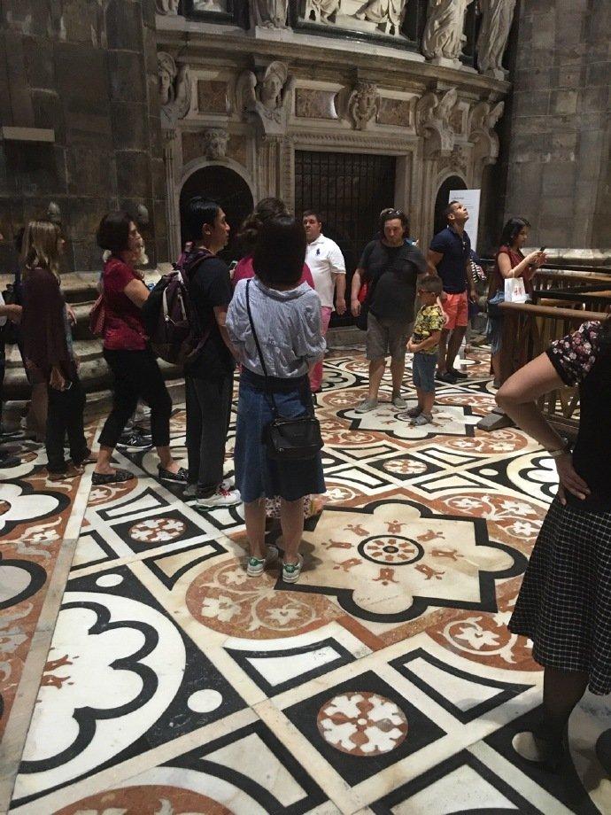 トニーさん@ミラノ大聖堂2