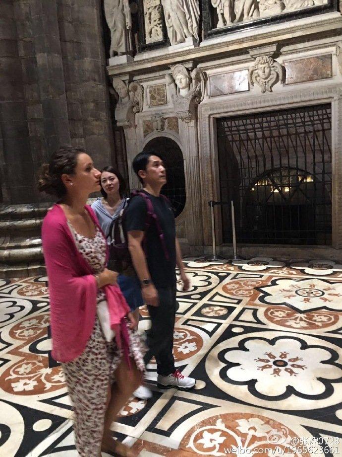 トニーさん@ミラノ大聖堂3
