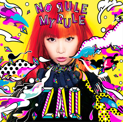 ZAQ「NO RULE MY RULE」初回限定盤