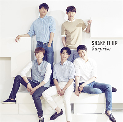 5urprise「Shake It Up - EP」