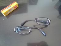 兎 親と子 狐巣 眼鏡