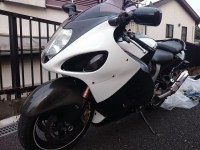 GSX1300R 白黒