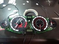 GSX1300R カスタム 電飾 メーター カレー 夕餉