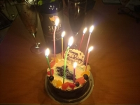 GSX1300R ラーメン博物館 麺 生まれた日 ケーキ