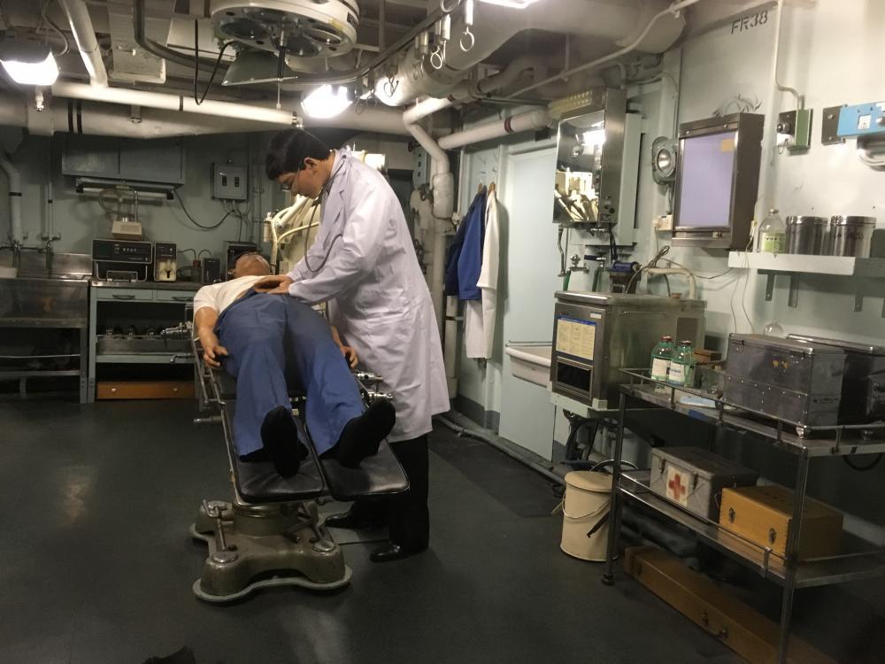 南極観測船ふじ 医務室