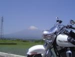 富士山方面はよく走った