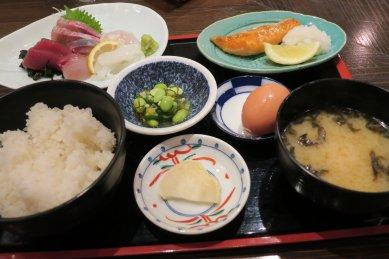 地魚刺身定食@1,200円