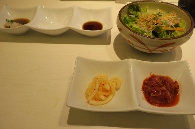 前菜、サラダ