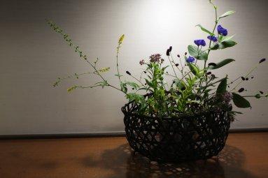 トリカブトの生け花