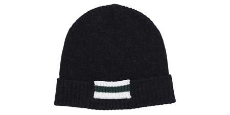 MGJ-AC03 LINE KNIT CAP NAVY_R