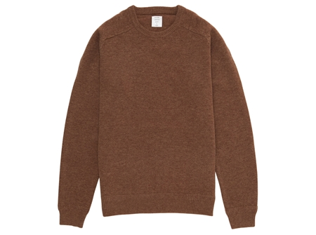 MGJ-KN01 CREW NECK KNIT TULIP WOOD_R