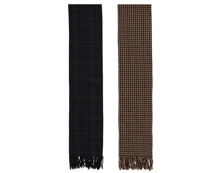 MGJ-AC09 CHECK WOOL STOLE_R