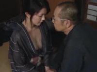 ヘンリー塚本 円城ひとみ 柔らか巨乳の四十路の人妻が金のためにまんこを開いてセックスをする