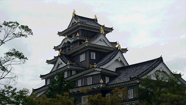 岡山城 5