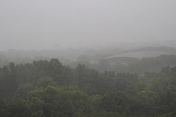 台風9号接近